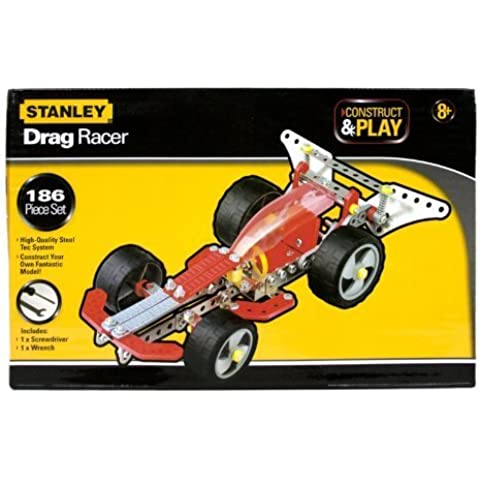 Stanley Construct & Play Drag Racer 186 Piece Set by Sambro International Limited