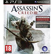 PS3 Assassin's Creed III : Exclusive Edition For Sony_playstation3