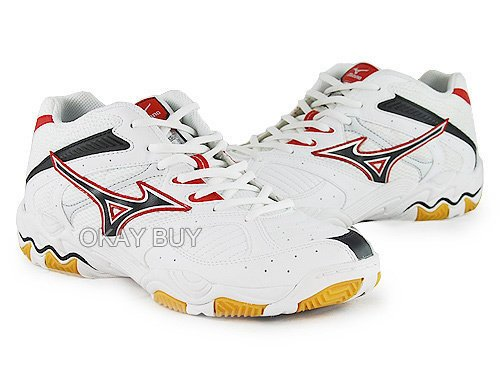 Mizuno , Chaussures spécial volleyball pour homme blanc blanc 42.5 Blanc