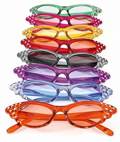 Gafas Diva, color: rosa/fucsia