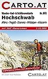 Wander- Rad- & Schitourenkarte 803 Hochschwab: Aflenz - Tragöß - Eisenerz - Wildalpen - Kräuterin