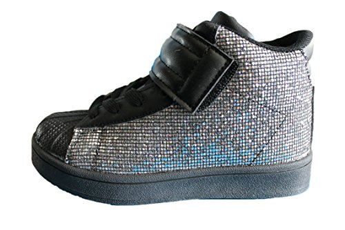 rock and joy baskets à strass-noire-fille