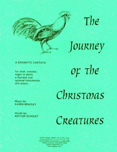 The Journey of the Christmas Creatures: A Dramatic Cantata by Arthur Scholey, Karen Bradley (1999) Plastic Comb -