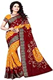 #3: Great indian Sale isk fabrics Sarees For Women's Clothing Saree For Women Latest Design Wear Sarees New Collection in multi Coloured, Latest Saree With Designer Blouse Free Size Beautiful Saree For Women Party Wear Offer Designer Sarees With Blouse Piece ISK1243