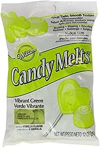 Candy Melts 12 Ounces-Vibrant Green