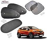 #2: Auto Pearl - Premium Quality Car Auto Window Side Chipkoo Sunshade Curtains - Renault Captur
