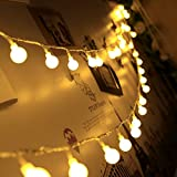 Innoo Tech Indoor Fairy Lights 100 Led Globe String Festoon Party Lighting Warm White for Patio Christmas Wedding Bedroom Bild 3