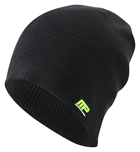 Muscle Pharm Herren Textilbekleidung Musclepharm Knitted Beanie Hat Black_472