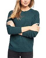 ESPRIT Damen Pullover mit Fledermausärmeln