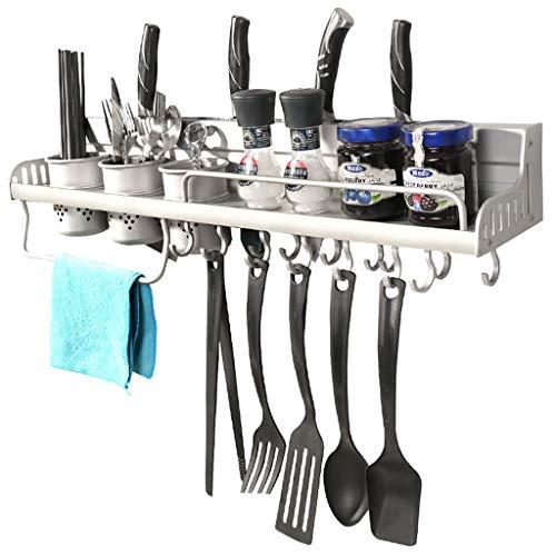 LSJT Shelf Estantes de Cocina montados en la Pared Especias Estante Vajilla...