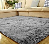 Labellevie Shaggy Alfombra para Salón Decoración Interior 60 x 120cm