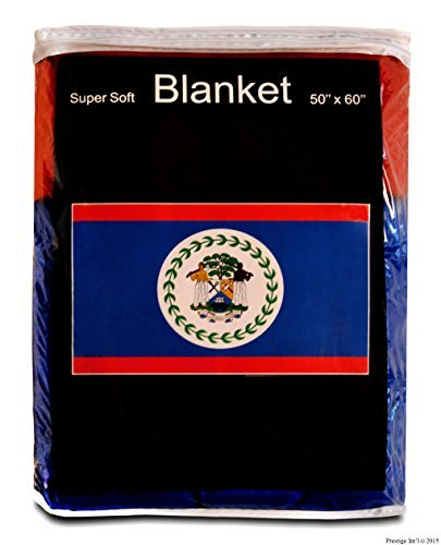 lanket 5 ft x 4.2 ft. Belizean Travel Throw Cover by Super Soft ()