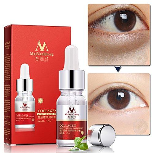 Ofanyia Collagen Moisturizing Eye Essence Verjüngende Anti-Falten-Anti-Aging Entfernen Augenringe Augenserum -