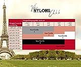 Oh La La Nahtnylons Nahtstrümpfe 100% Nylon in Noir Gr 2-6 (XS bis XL) d (6)