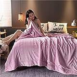 Decke Wirf Luxury Fleece Decken 100% Mikrofaser,200 x 230 cm Ultra Soft Glatt Fluffy Warm Carved...