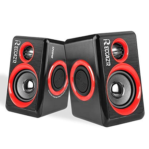 Altavoces Multimedia para Ordenador con subwoofer Surround de Graves Pesados USB Alimentado...