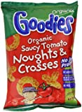 Organix Goodies Saucy Tomato Noughts and Crosses from 12 months 15 g (Pack of 6)