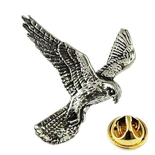 Kestrel Vogel Englische Zinn Revers Anstecknadel (Tie Clip Vogel)
