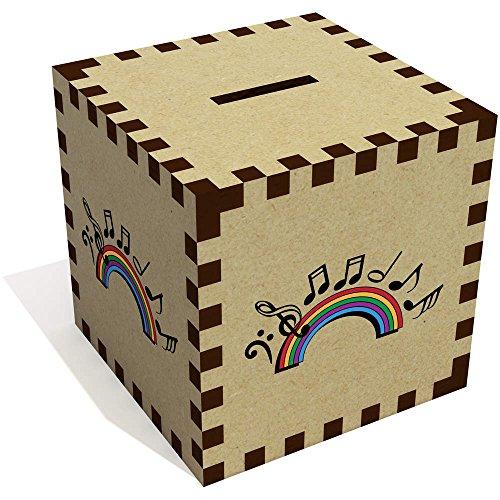 Azeeda 'Musica Arcoiris' Caja de Dinero / Hucha (MB00068231)
