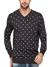 Spykar Men's Printed Regular Fit T-Shirt