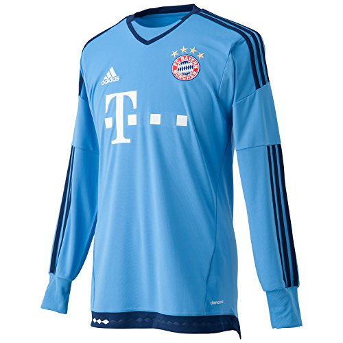 2015-2016 Bayern Munich Home Adidas Goalkeeper Maglietta