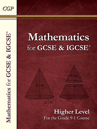 New Maths for GCSE and IGCSE® Textbook, Higher (for the Grade 9-1 Course) (CGP GCSE Maths 9-1 Revision) (English Edition) por CGP Books