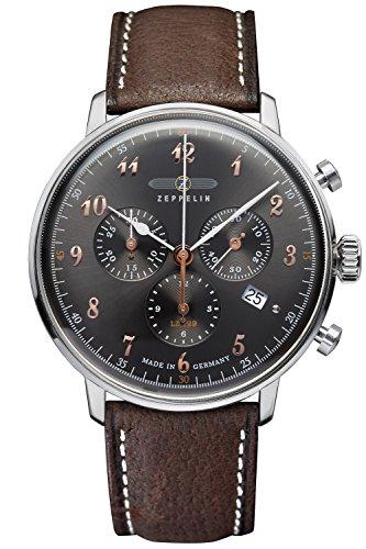 Zeppelin Mens Watch Chronograph LZ129 Hindenburg Ed. 1 7088-2