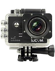 [SJCAM SJ5000 WIFI Action Camera] DEVELOP Professional Outdoor Mini Sports Camera (Novatek NTK96655, Panasonic MN34110PA 14MP CMOS, 30m Waterproof, 2.0 Inch Display, 170 Degree A+ HD Wide-angle lens)-Black