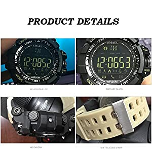 Mens Watches Bluetooth Smart Watch Pedometer Chronograph Outdoor Sports Fashion