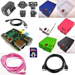 Raspberry Pi model B 512MB Starter bundle from New IT (IceBerry)