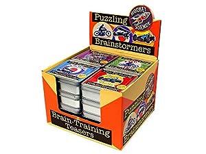 Cheatwell Games Brainstormer Puzzles 16pk (03719), Varios