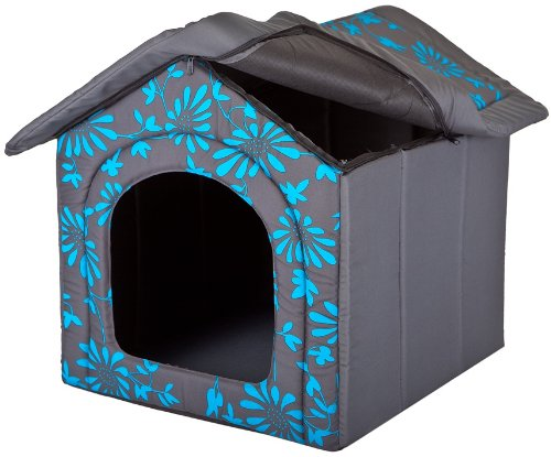 Hundehöhle Blaue Blumen - 3