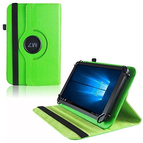 UC-Express Hülle Blaupunkt Enterprise 1020CH Tablet Tasche Schutzhülle Universal Case Cover, Farben:Grün