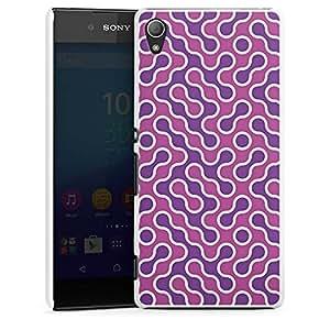 Sony Xperia Z3 Plus Housse Étui Protection Coque Lilas Rose vif Motif