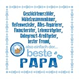 "Cartingo Bierdeckel ""der Beste Papa"""