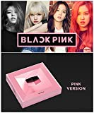 BLACKPINK SQUARE UP 1st Mini Album [Pink Ver.] CD + Photo Book + Postcard + Photo Card + Selfie Photo Card K-POP