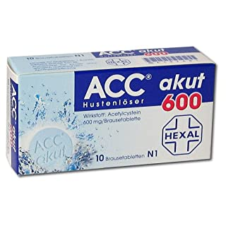 ACC akut 600 Brausetabletten, 10 St.