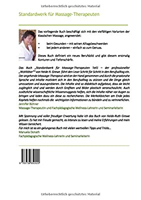 """Standardwerk für Massage-Therapeuten Teil 1: Der professionelle """"Wohltäter"""""""