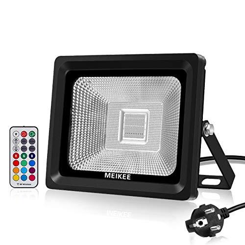 MEIKEE 30W Foco LED RGB en 16 opciones, 4 tipos de modos,...