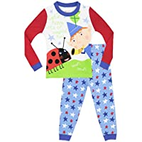 Ben & Holly Boys Little Kingdom Pyjamas - Snuggle Fit - Age 3-4 Years
