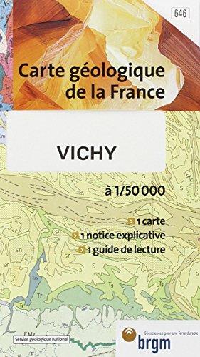 Carte géologique : Vichy par Cartes BRGM