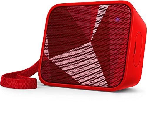 Philips PixelPop Altavoz portátil inalámbrico BT110R/00 - Altavoces portátiles (1.0 Canales, 3,81...