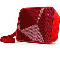 Philips Bt110 Taşınabilir Hoparlör, Bluetooth, Ipx4 Suya Dayanıklı Tasarım, Kırmızı