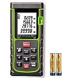Laser Entfernungsmesser KingTop Digital Laser Messgerät für Distanz, Flächen, Volumen, Messbereich 0,05~40m