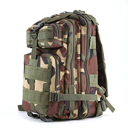 Militärische Taktik Rucksack Militärischer Angriff Rucksäcke Rucksack Outdoor-Sport Wandern Camping Schulrucksäcke. Multicolor,H-25*25*45cm Yy.f handbags