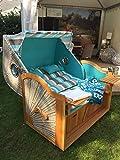 Bullaugen Strandkorb der Sonderklasse Modell St. Lucia
