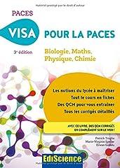 estimation pour le livre Visa pour la PACES - 3e éd. - Biologie, Maths,...