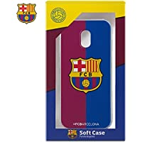 Carcasa Funda Samsung J330 Galaxy J3 (2017) Licencia Fútbol F.C. Barcelona Blaugrana