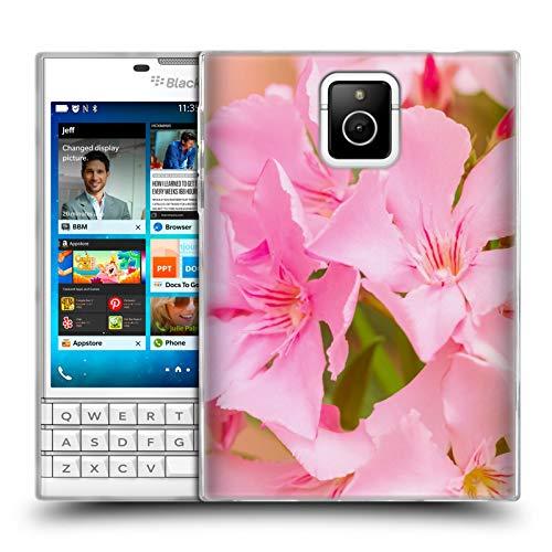 Head Case Designs Offizielle Beli Laurel Blueten Blumen Soft Gel Huelle kompatibel mit BlackBerry Passport -