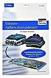 ASIS nettrade Vakuum Kleiderbeutel Aufbewahrungsbeutel für Kleider und Wäsche - 6 Stück (2 Sets) - 74 x 130 cm und 50 x 85 cm - Reduziert Das Volumen um 75%! Ideal für Lager - Transport - Reisen!